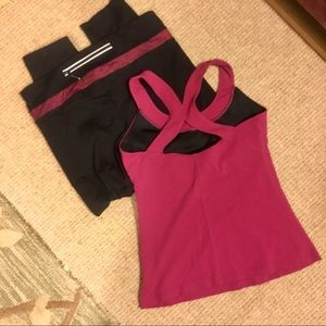 2 pc. Outfit- Athleta and ?